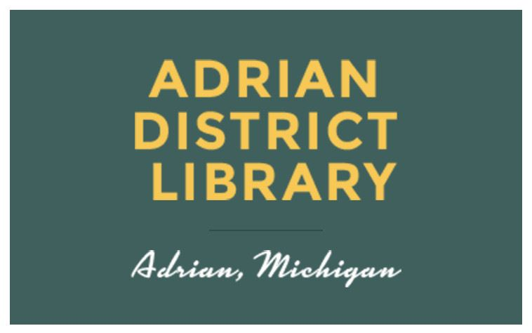 Adrian District Library - Adrian, Michigan