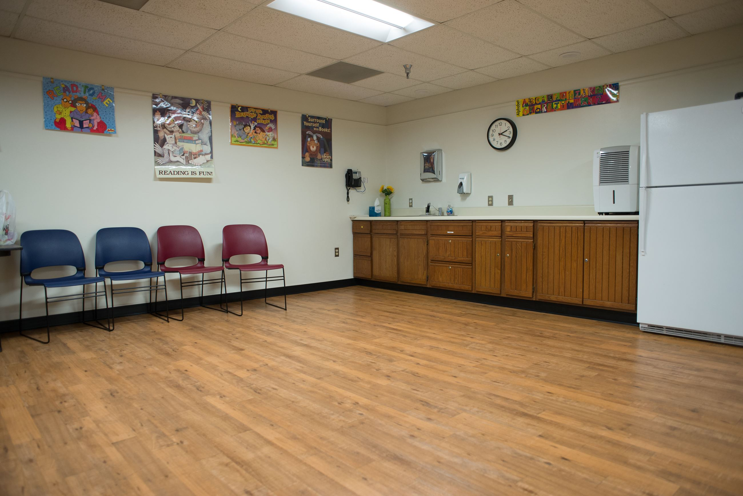 Image of Community Room kitchen area