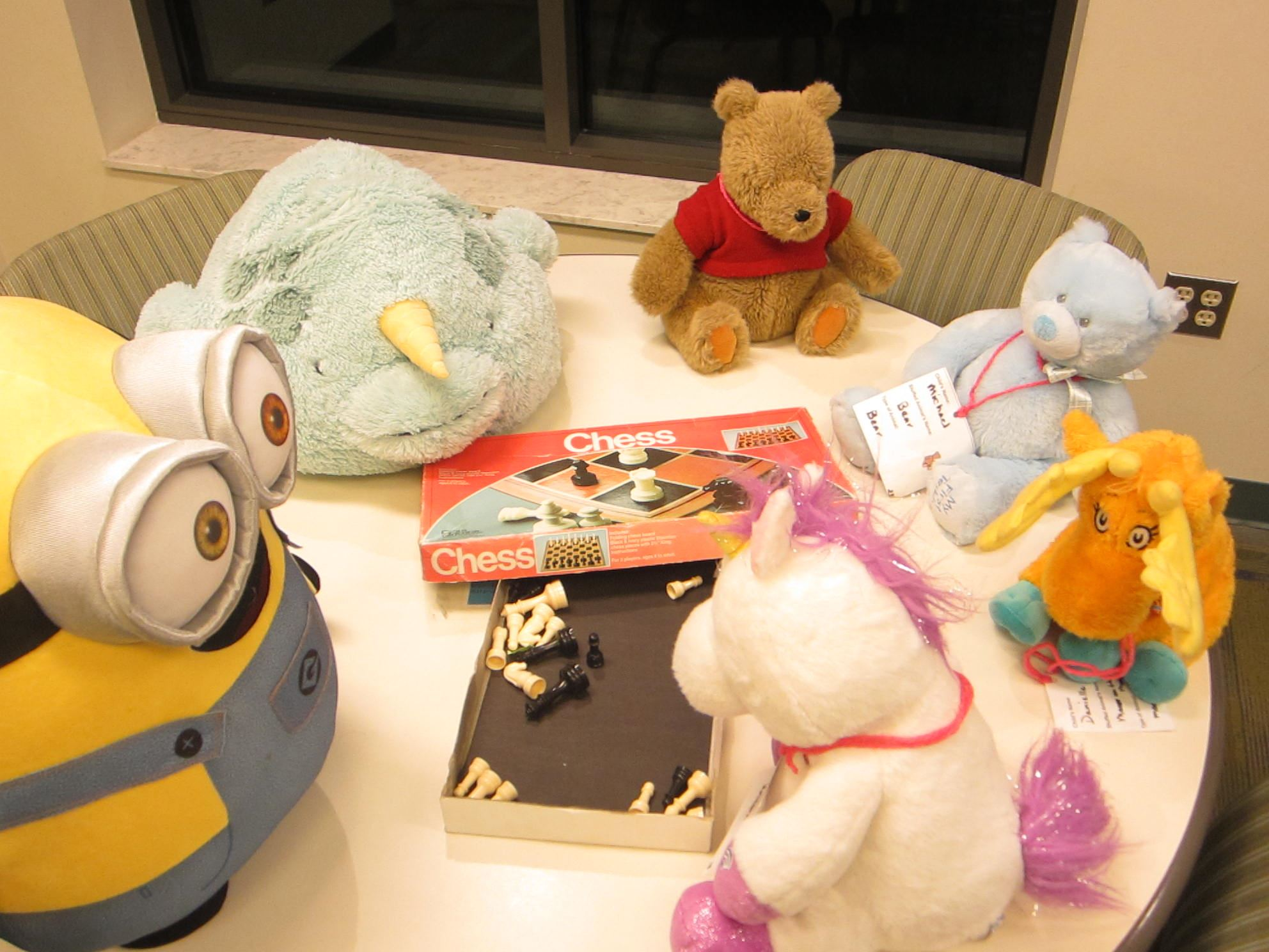 Stuffed animal sleepover 154