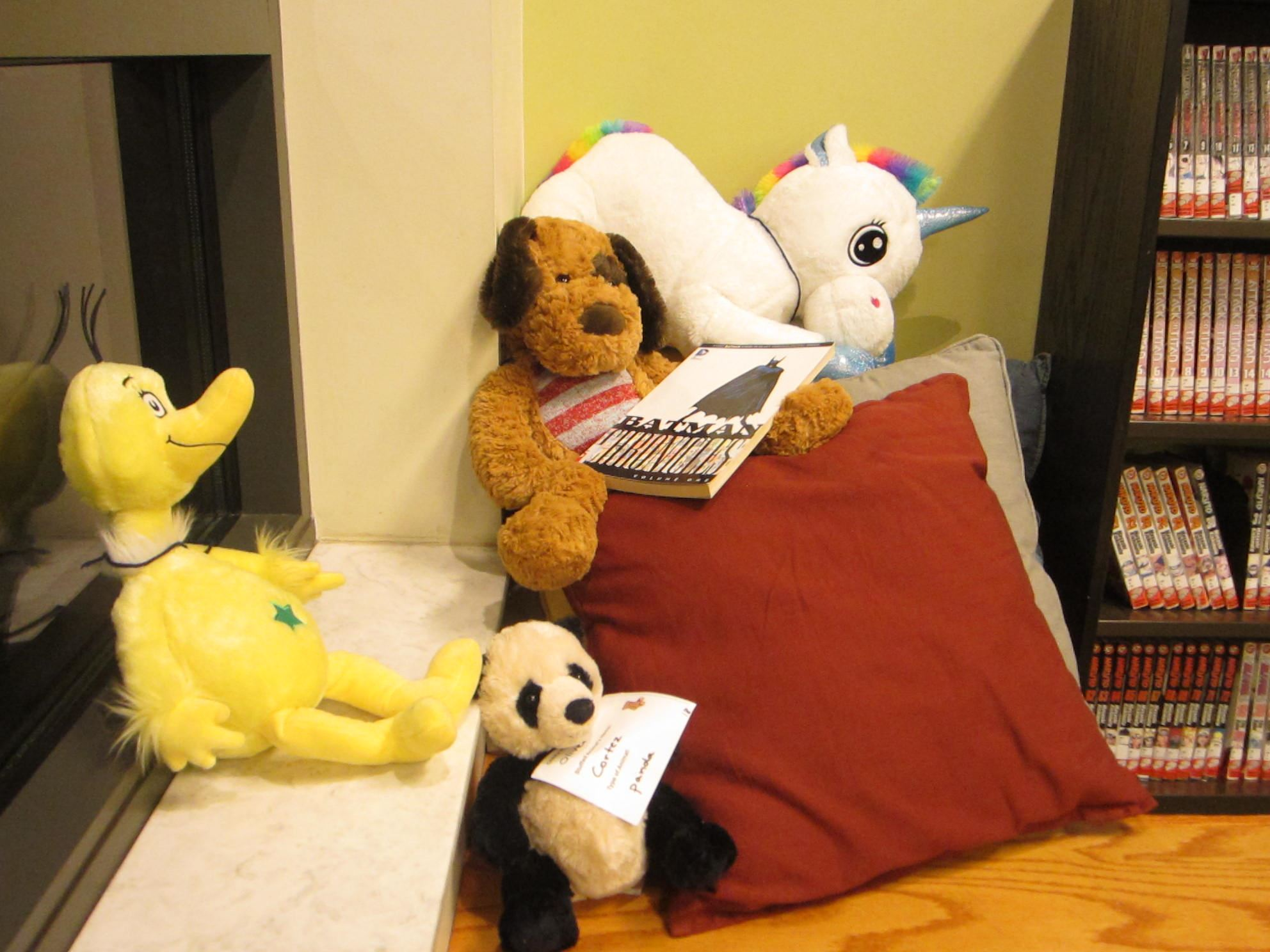 Stuffed animal sleepover 155