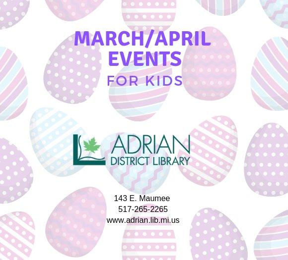 march/april events