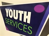 Youth Services Sign