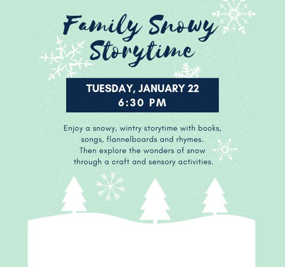 Family Snowy Storytime