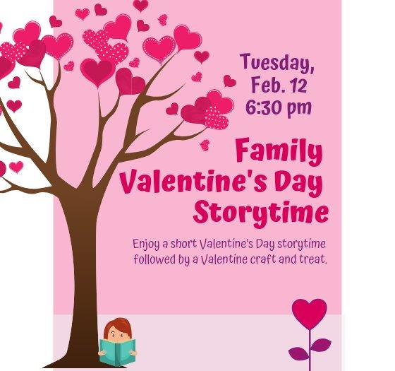 FAmily Valentines Day Storytime