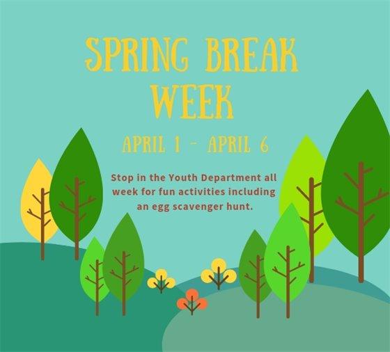 spring break week activities
