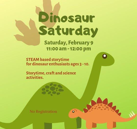 Dinosaur Saturday